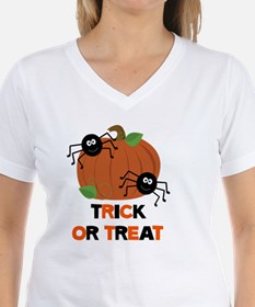 Trick or Treat Spiders with Shirt