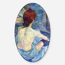 Toulouse-Lautrec Rousse (Toilet) Decal