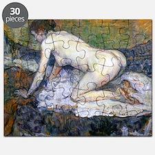 Toulouse-Lautrec Woman Naked Puzzle