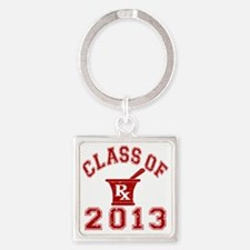 Class Of 2013 Pharmacist Square Keychain