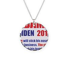 OBAMA BIDEN 2012 ONE WILL ST Necklace