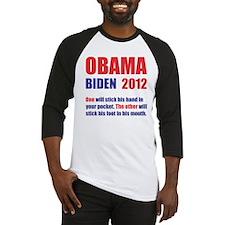 OBAMA BIDEN 2012 ONE WILL STICK HI Baseball Jersey
