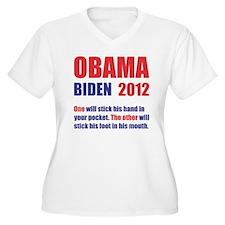 OBAMA BIDEN 2012  T-Shirt