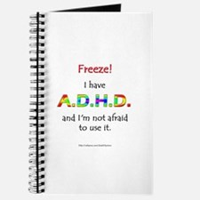 """Freeze!"" ADHD Journal"