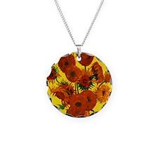 Van Gogh Fifteen Sunflowers Necklace