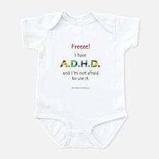 """Freeze!"" ADHD Infant Bodysuit"