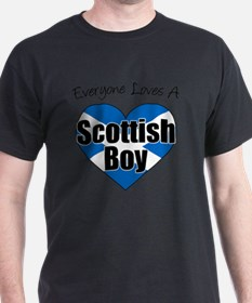 Everyone Loves Scottish Boy T-Shirt