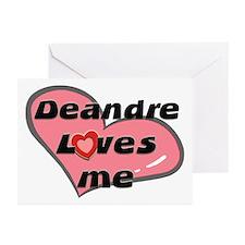 deandre loves me  Greeting Cards (Pk of 10)