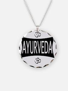 Ayurveda Necklace Circle Charm
