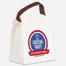 Cocktail Party Canvas Lunch Bag