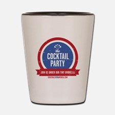 Cocktail Party Shot Glass