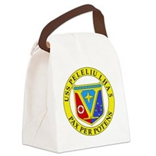 US Navy USS Peleliu LHA 5 Canvas Lunch Bag
