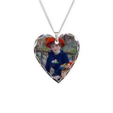 rect_mag2 Necklace Heart Charm