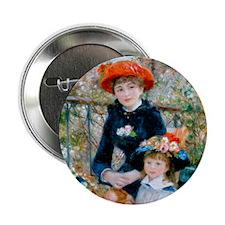 "WoodClock Renoir 2.25"" Button"