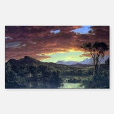 A rural home by Frederick Edwi Decal