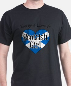Everyone Loves Scottish Girl T-Shirt