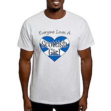 Everyone Loves Scottish Girl T-Shirt