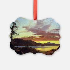 Frederick Edwin Church Sunset Ornament
