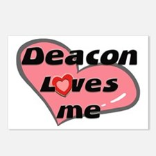 deacon loves me  Postcards (Package of 8)
