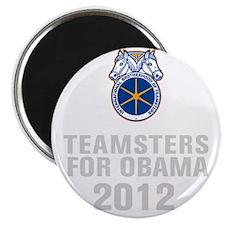 Teamsters For Obama Magnet