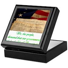 We The People Demand Keepsake Box