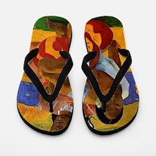 Paul Gauguin Married Flip Flops