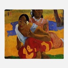 Paul Gauguin Married Throw Blanket