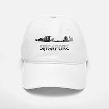 Singapore_10x10_Skyline_Half_Black Cap