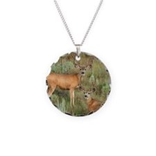 Mule deer velvet Necklace