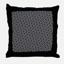Black And White Decor Throw Pillow