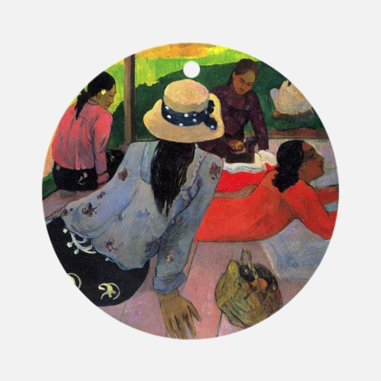 Paul Gauguin Afternoon Quiet Hour Round Ornament