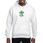 LUCKY 4 LEAF CLOVER Hooded Sweatshirt