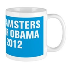 Teamsters For Obama Mug