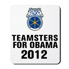 Teamsters For Obama Mousepad