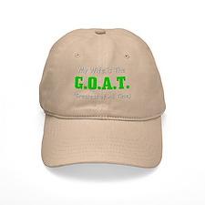 GOAT Wife Baseball Cap