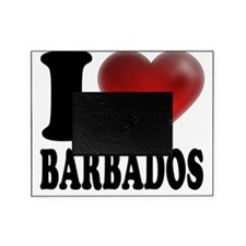 I Heart Barbados Picture Frame