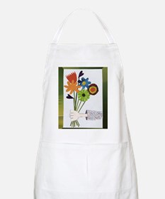 Pretty Flower Delivery Apron