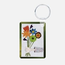 Pretty Flower Delivery Keychains