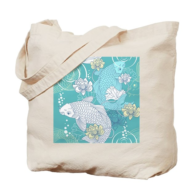 Koi fish tote bag by admin cp11748871 for Koi fish purse