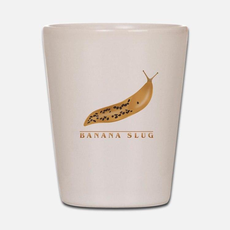 Banana Slug Shot Glass
