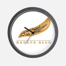 Banana Slug Wall Clock