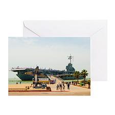 USS Lex_TGP1289 Greeting Card