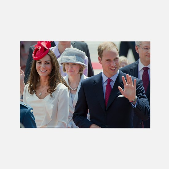 Will and Kate Rectangle Magnet