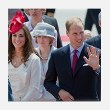 Will and Kate Tile Coaster