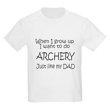 WIGU Archery Dad Kids T-Shirt