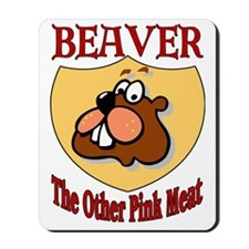 Beaver Meat Mousepad