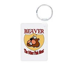 Beaver Meat Keychains