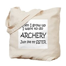 WIGU Archery Sister Tote Bag