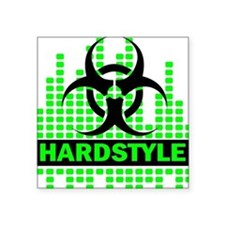 "Hardstyle Square Sticker 3"" x 3"""