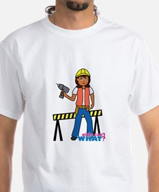 Construction Worker Woman Shirt